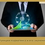Функции маркетинга и его значение