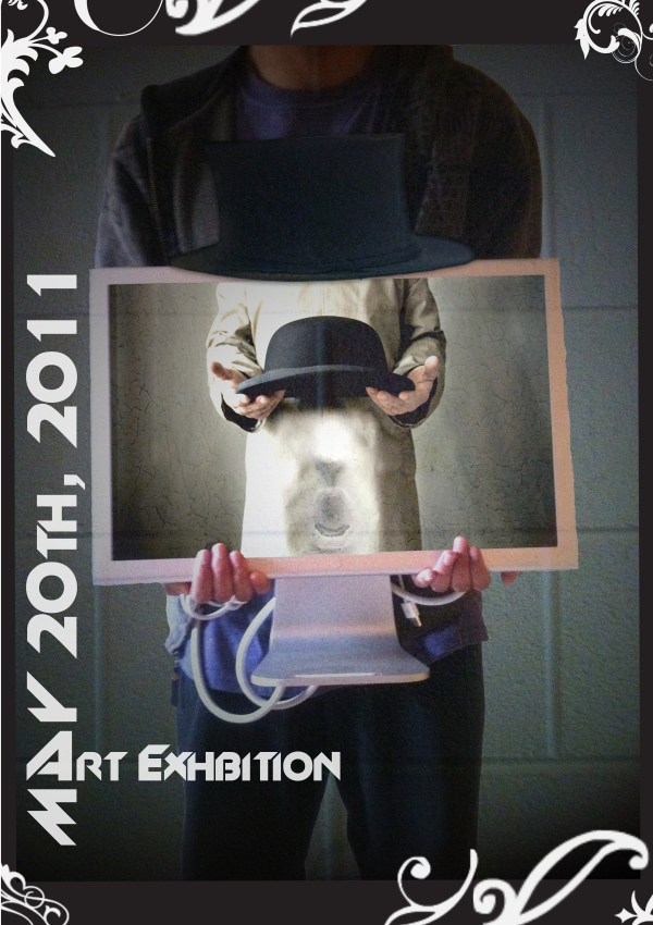 Assignment #11 Art Exhibition Poster Surrealism James Lee' Portfolio