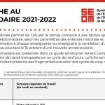 Tâche 2021-2022   Secondaire