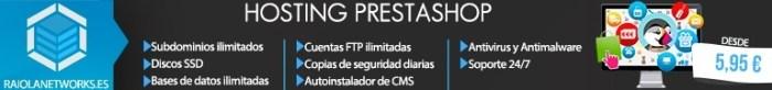 Crear tienda Online Hosting Prestashop