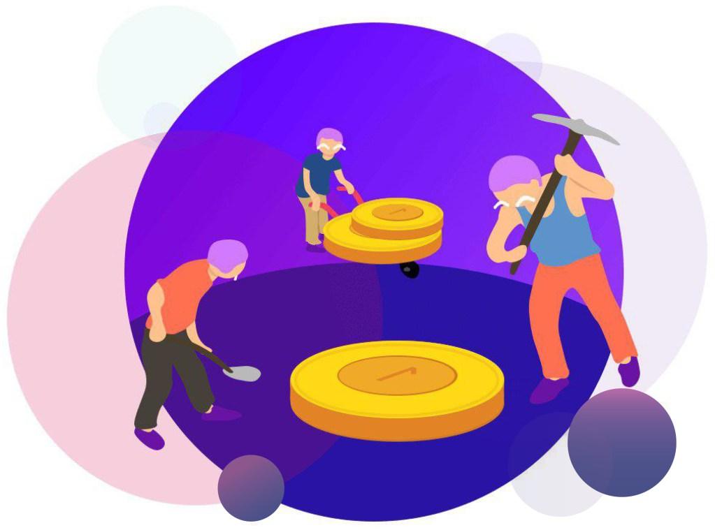 мужики с монетками