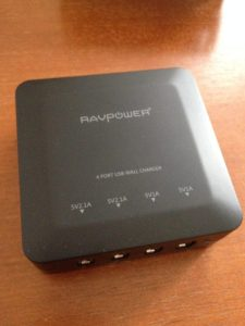 RAVpowerのUSB急速充電器を購入したぜ!iSmart機能は優秀です!