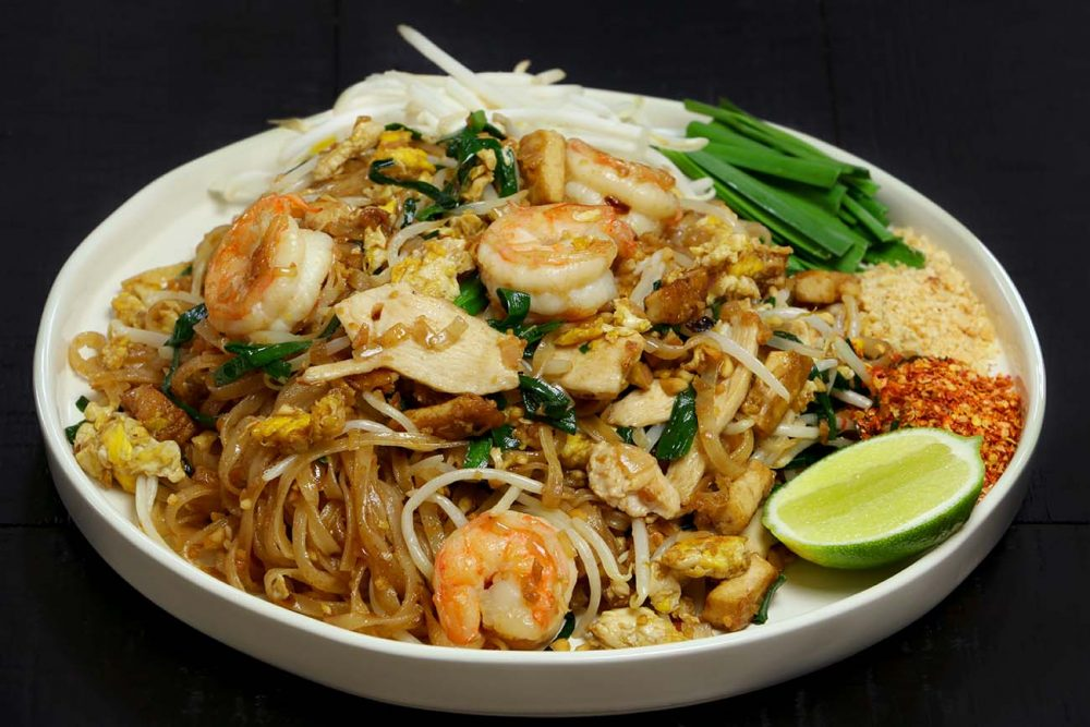 Thai Food, Pad Thai, Food Porn Friday