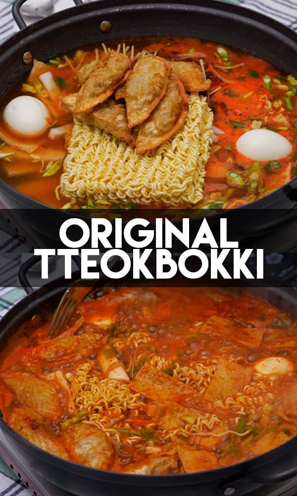 The Original Tteokbokki Recipe  Video  Seonkyoung Longest
