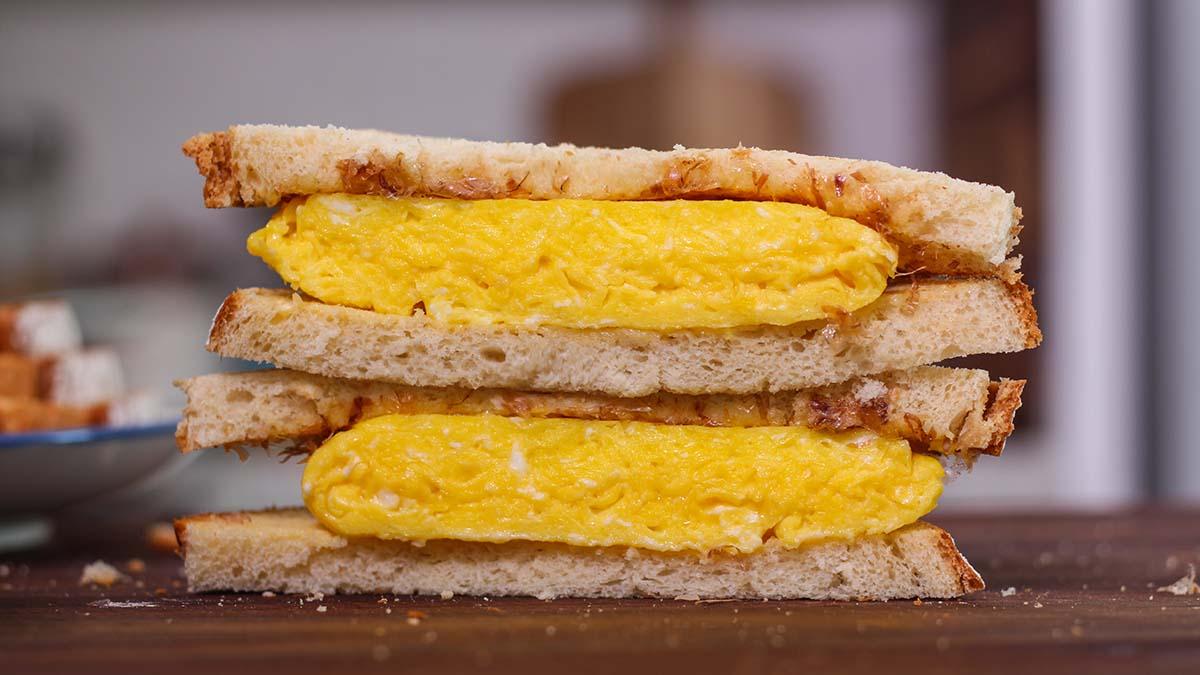 Japanese Egg Sandwich Tamago Sando Recipe Video Seonkyoung Longest