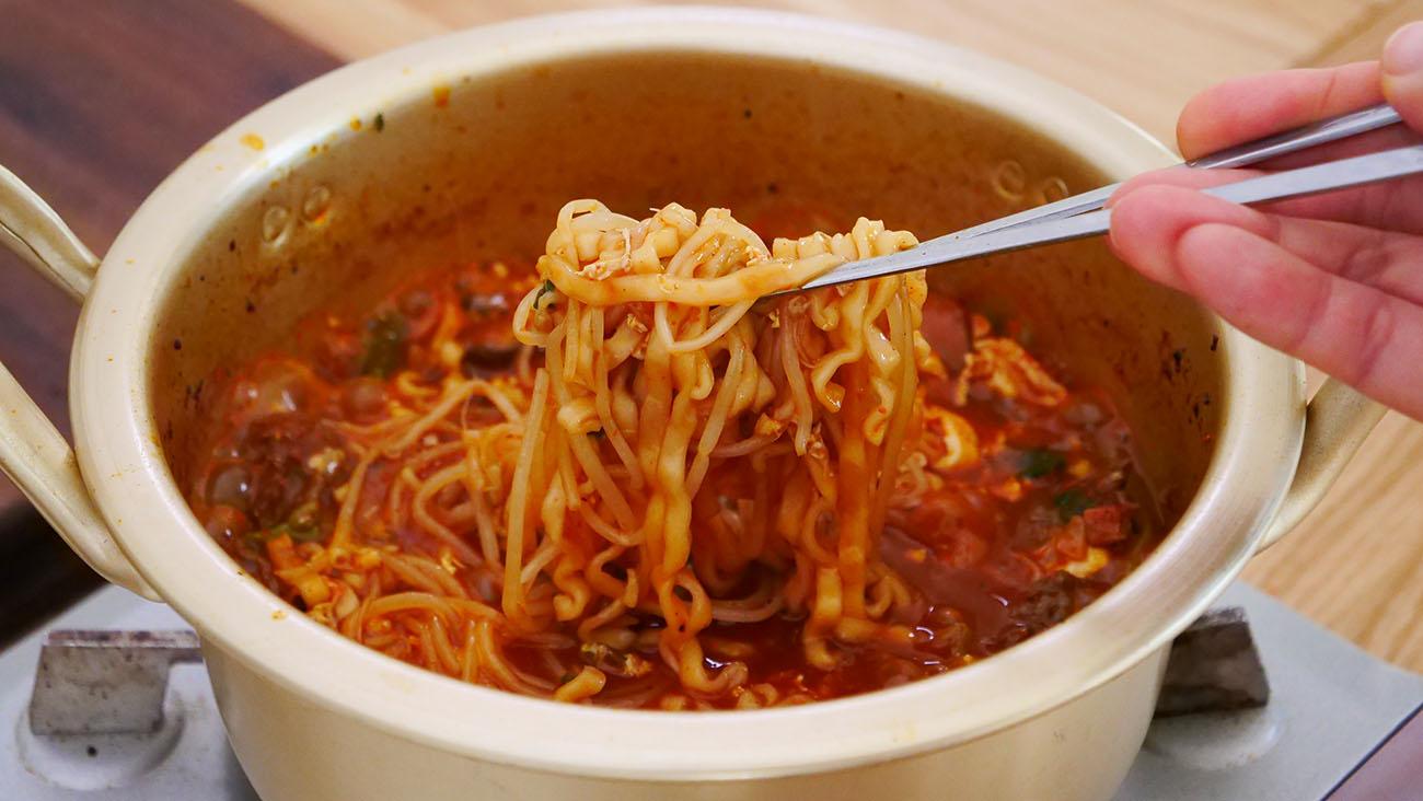 Korean Spicy Beef Ramen Recipe & Video - Seonkyoung Longest