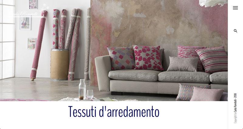 Carla Romitelli -Rivestimenti d'interni