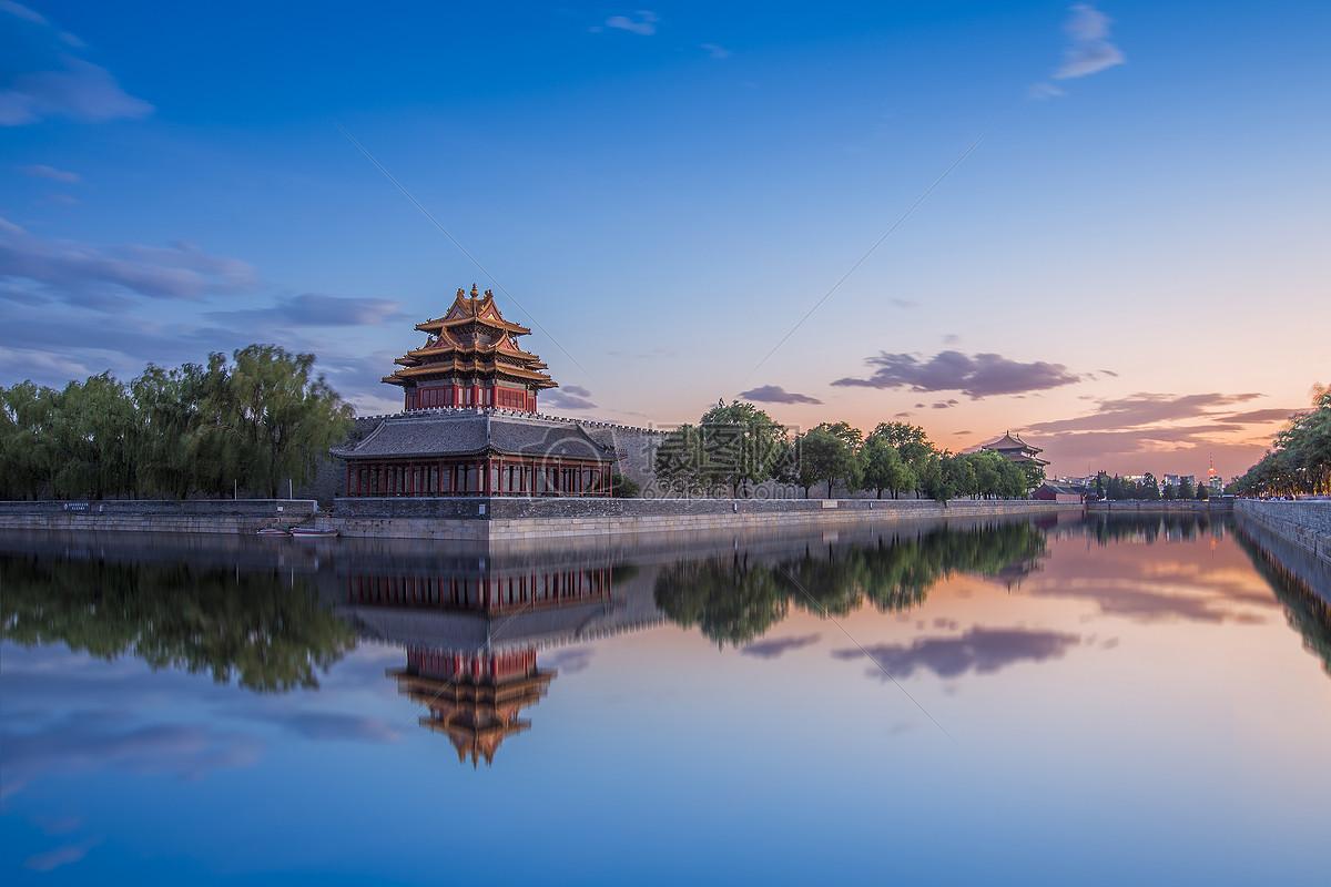 鏡像·紫禁城高清圖片下載-正版圖片500099661-攝圖網