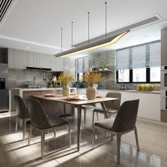 Kitchen Dining Tables Cost For New Cabinets 后现代厨房餐桌效果图图片素材 免费下载 Jpg图片格式 Vrf高清图片 后现代厨房餐桌效果图