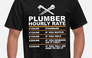 shopping online for plumbers