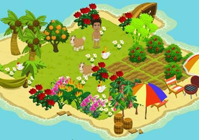 Facebook Фейсбук игра - Island Paradise