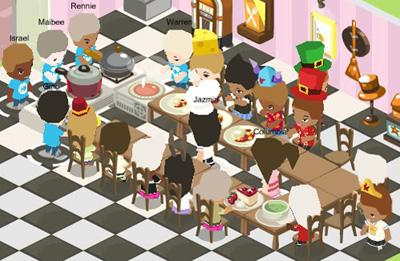 Facebook Фейсбук игра - Restaurant City