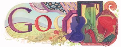 Международния Ден на Жената 2011 Google драскулка