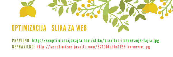 Kako optimizovati slike za web - optimizacija fajlova slike