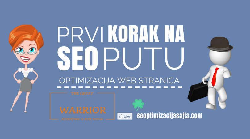 on page seo optimizacija - prvi koraci