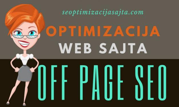 Off page SEO optimizacija sajta [5+10]