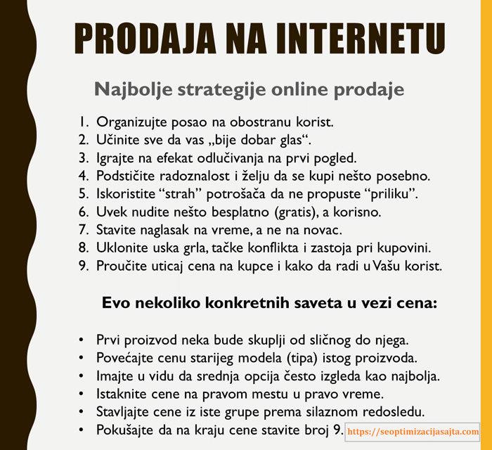 Interneta prodaja inostranstvo preko u Posle paušalaca