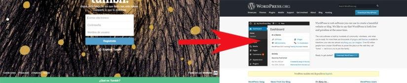 Mudar un blog de Tumblr a WordPress