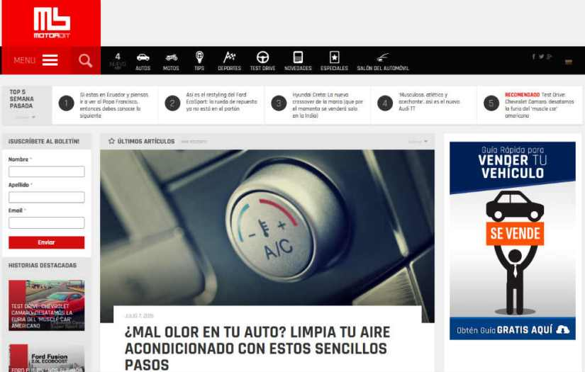 Motorbit: blog de Patio Tuerca