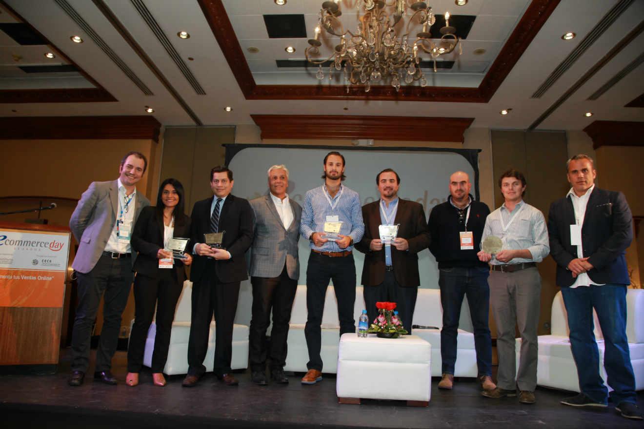 Ganadores ecommerce day ecuador 2015