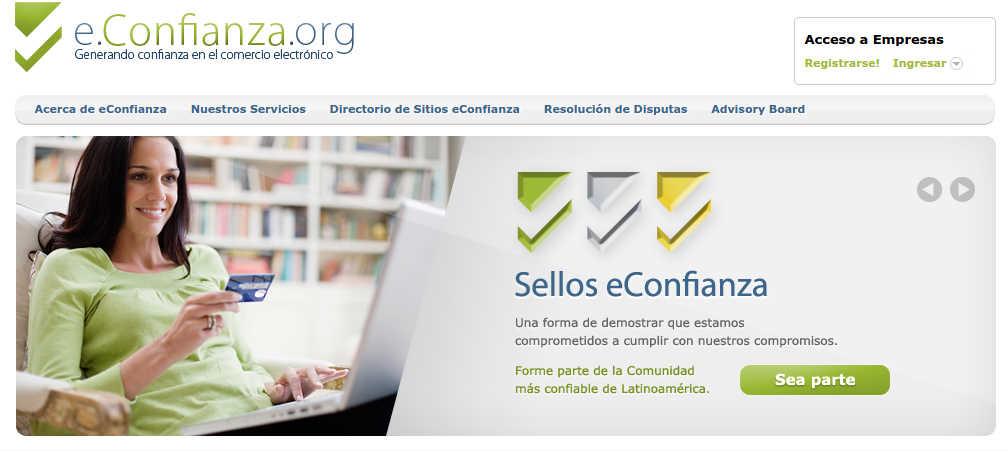 Autorregulación en el comercio electrónico: sellos de confianza/seguridad