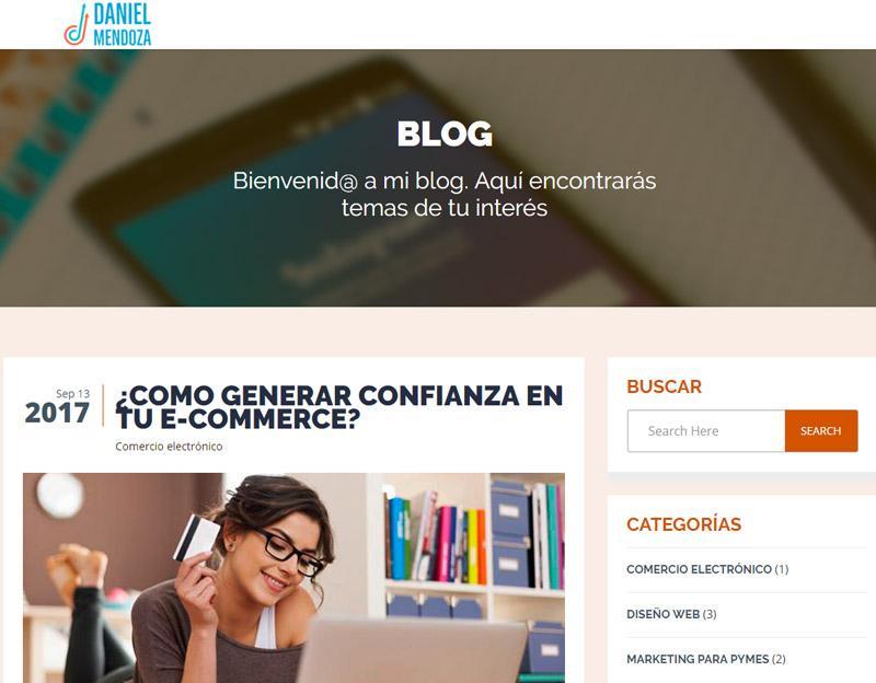 Blog de Daniel Mendoza