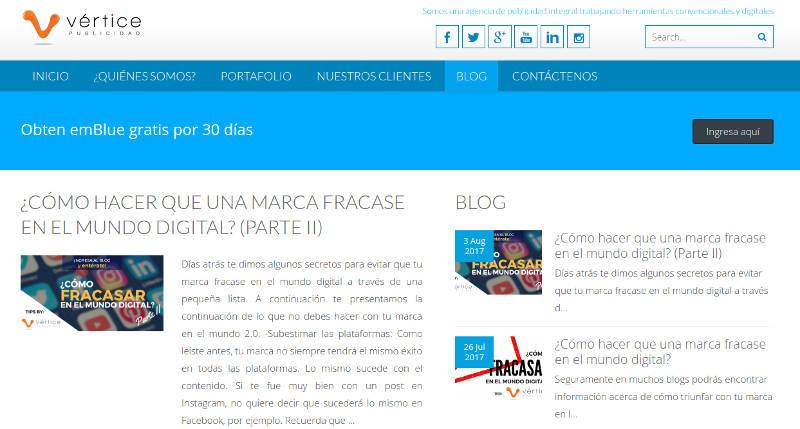 Vértice Publicidad.