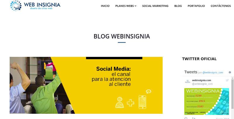 Web Insigna.