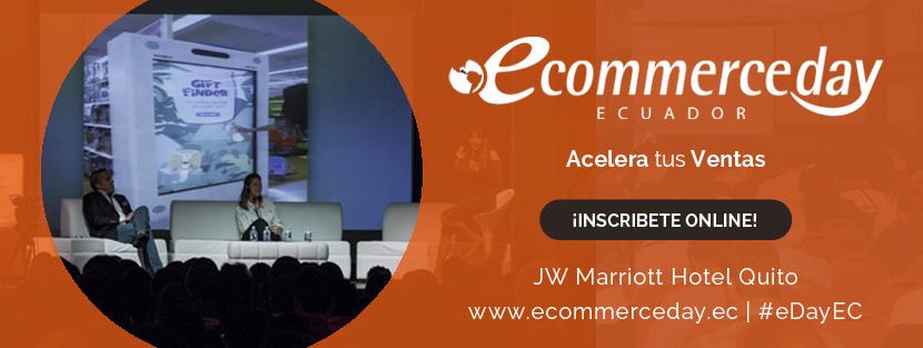 eCommerce Day Ecuador 2017.