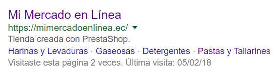Title y descripción meta de Mi Mercado en Línea.