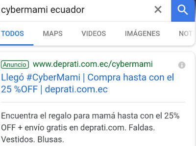 Adwords de DePrati.