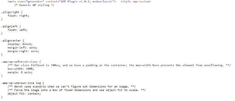 CSS inline.