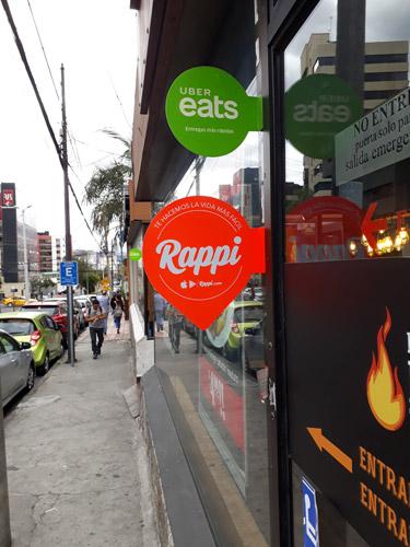 Rappi está en Quito. Restaurante cerca del Swisshotel que utiliza el servicio de la empresa