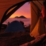 Golden Sunrise Gunung Prau