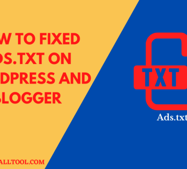 How to Fixed Ads.Txt on WordPress on Blogger