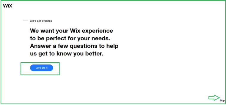إجابة أسئلة Wix