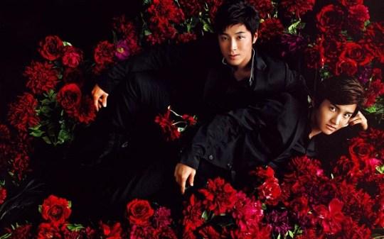20130831_seoulbeats_dbsk_yunho_changmin_rose