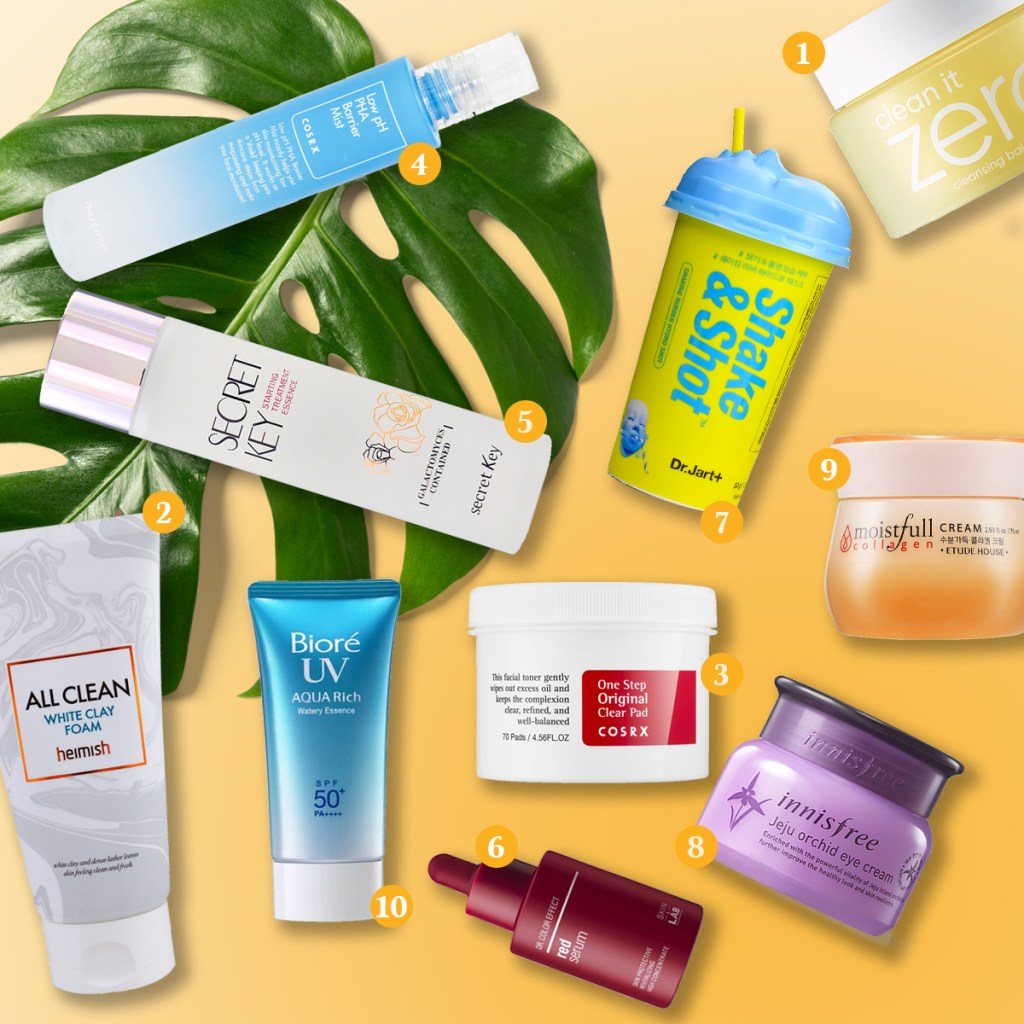Korean and Japanese beauty and skincare products in South Africa J and K-Beauty