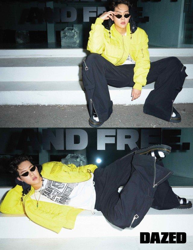 jooheon dazed korea