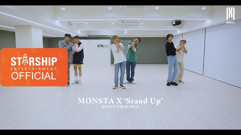 """MONSTA X Dazzles In Their """"Stand Up"""" Dance Practice Video"""