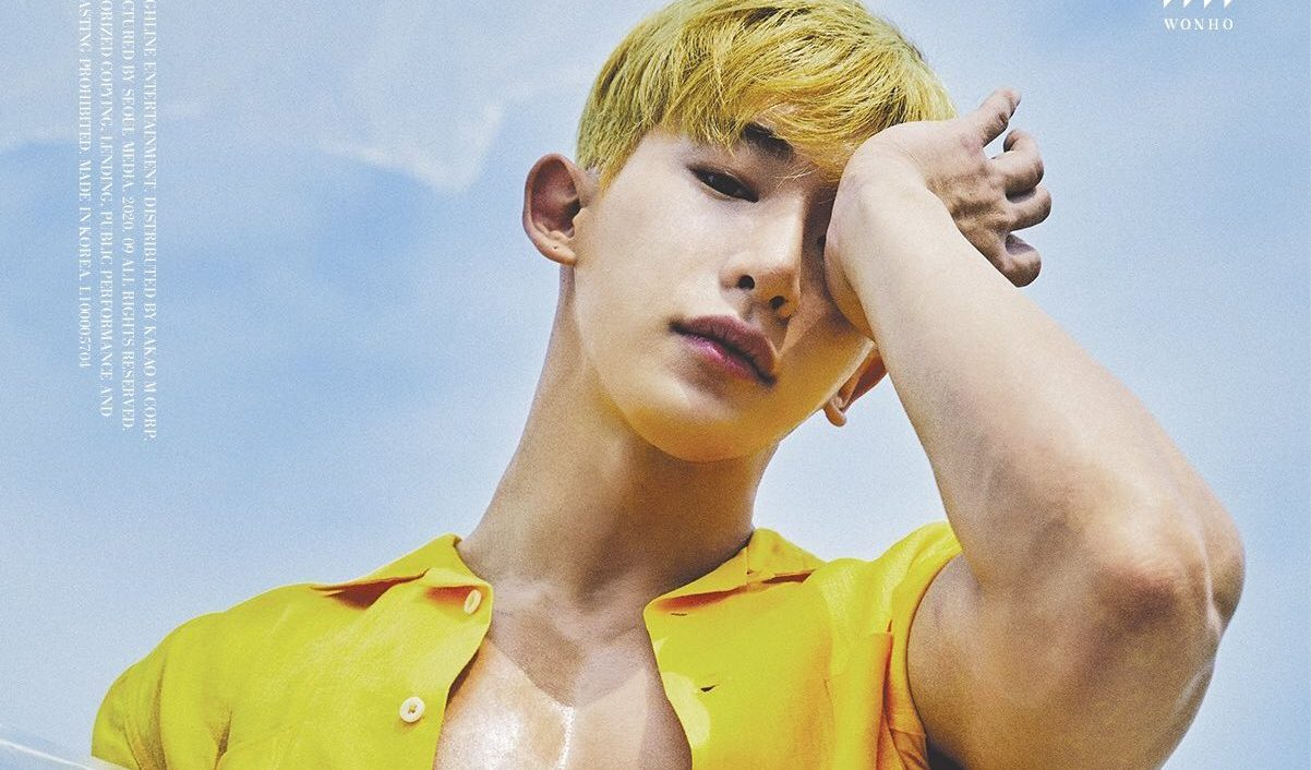 """Wonho Shines In The First Set Of Concept Photos For """"Love Synonym"""""""