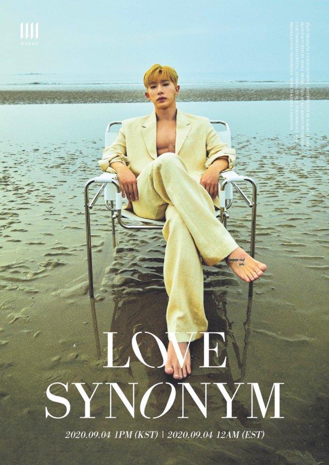 WONHO_LOVE SYNONYM
