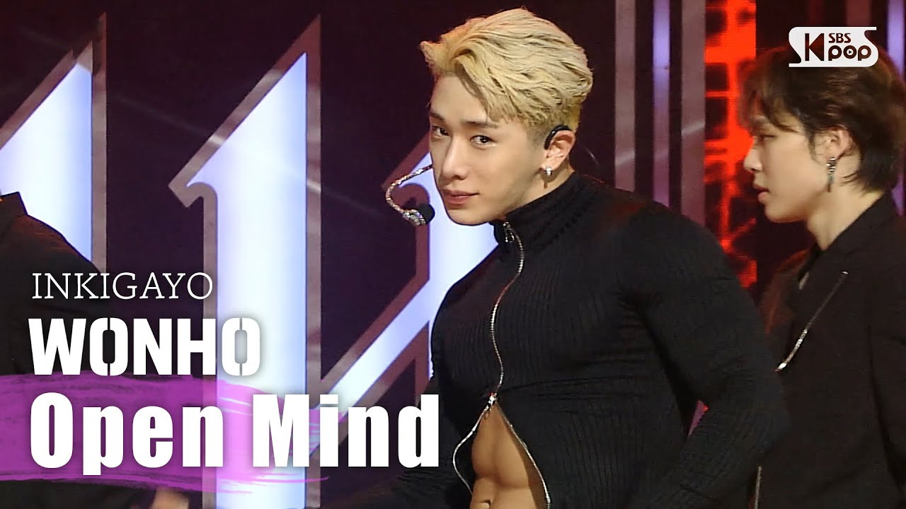 """Wonho Dazzles In His Debut Stage On SBS """"Inkigayo"""""""