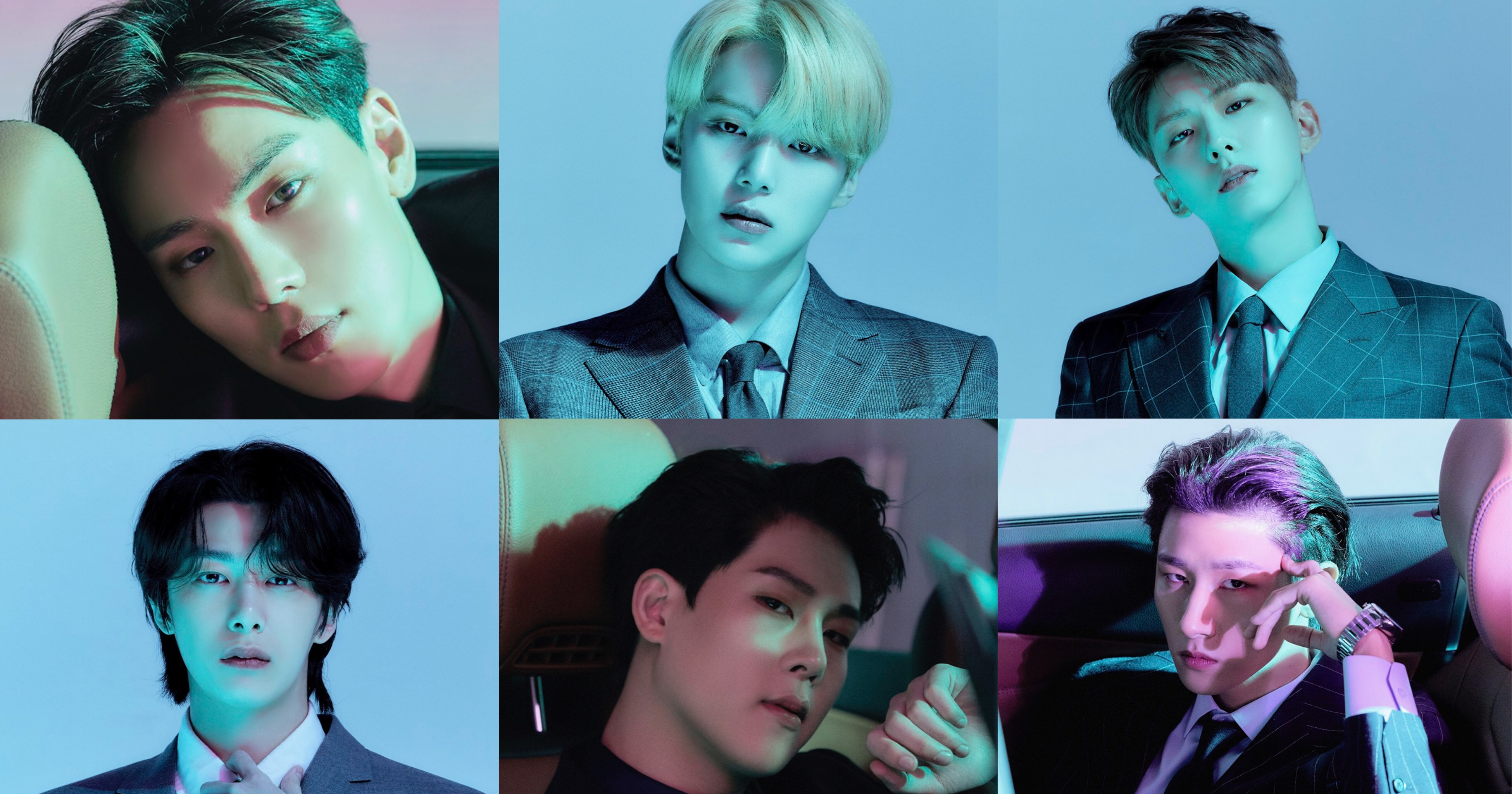 MONSTA X Play It Cool In The Final Version Of Concept Photos