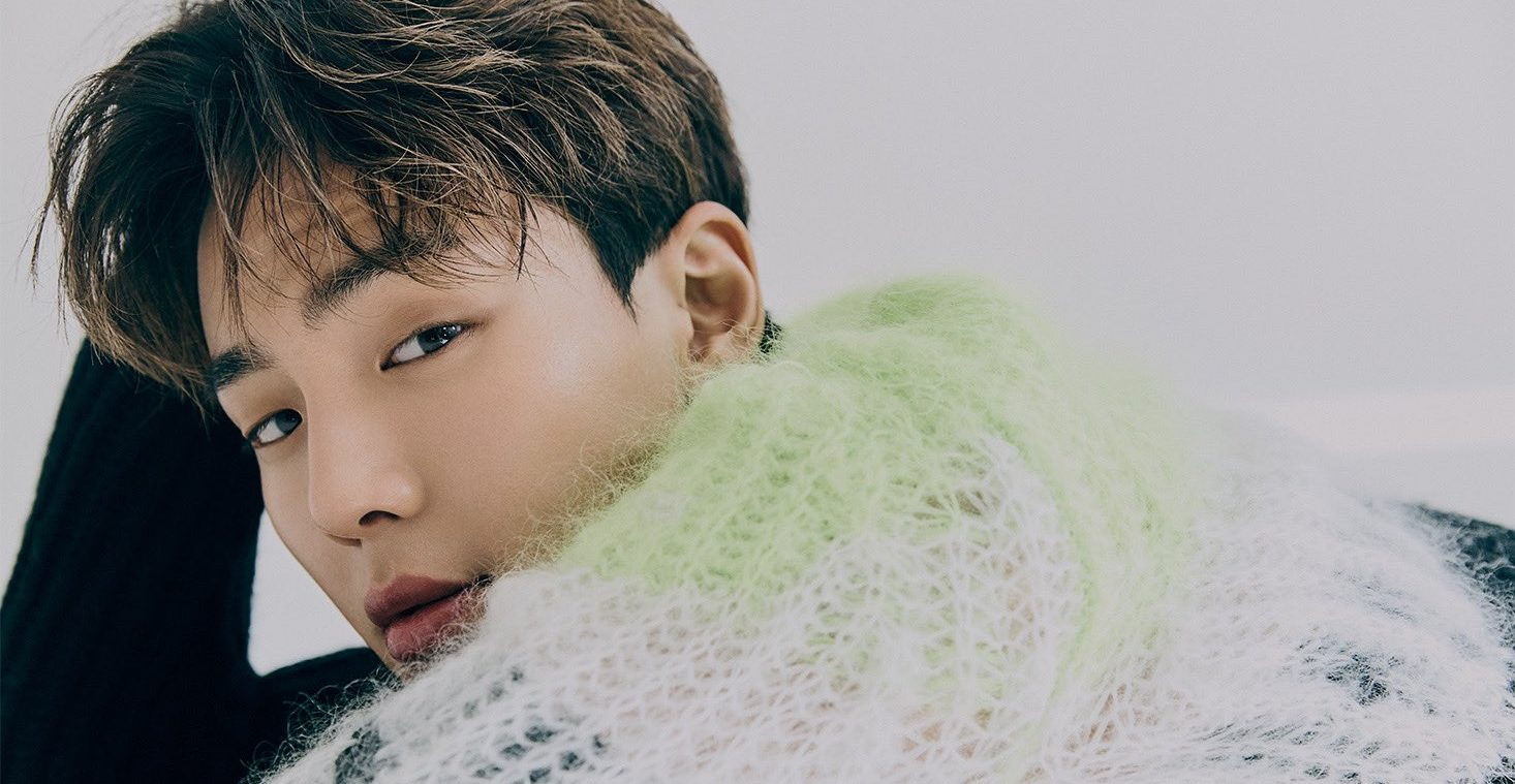 MONSTA X's Shownu Shines With His Sweet Visuals In A Pictorial For 1st Look Magazine