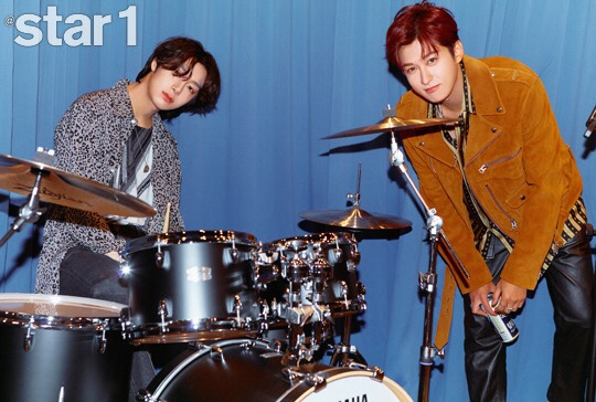 MONSTA X's Hyungwon And Block B's Jaehyo Look Effortlessly Cool In A Pictorial For @star1 Magazine