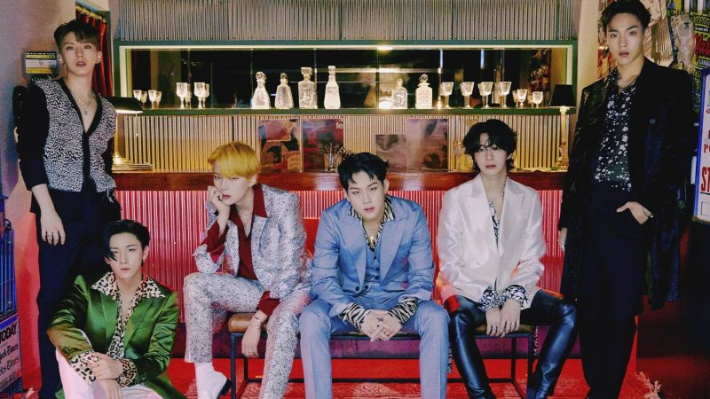 MONSTA X Channels Their Ferocious Sides In New Concept Photos