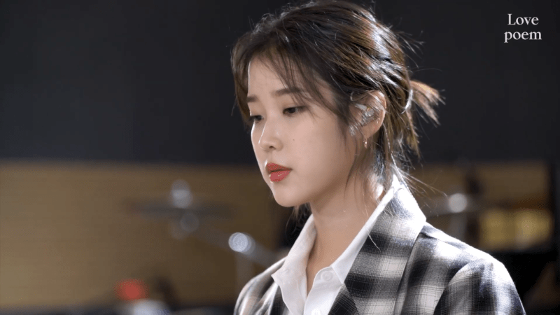 """IU Releases A Riveting Live Clip Version Of Her Track """"Love Poem"""""""
