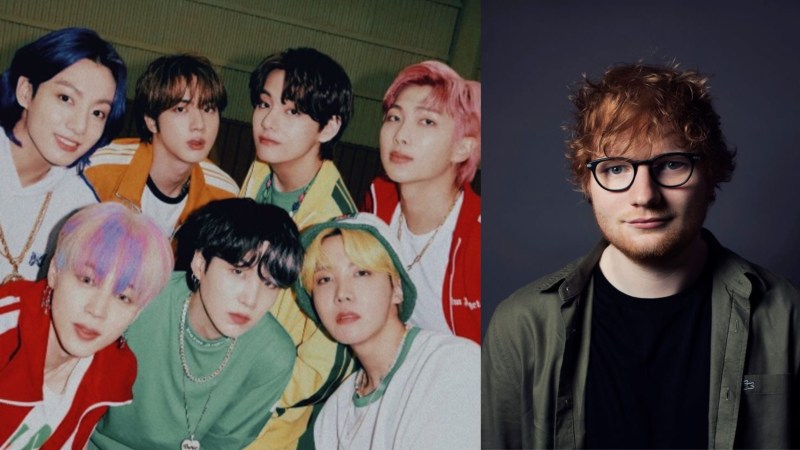 BTS To Collaborate With Ed Sheeran For Their Upcoming New Track