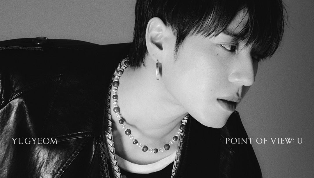 """Yugyeom Mesmerizes In Monochrome For """"Point Of View: U"""""""